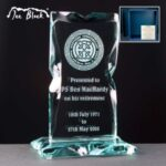 Ice Block Monument Award In Blue Cardboard Gift Box - From £27.25 Including Engraving