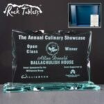 Landscape Rock Tablet In Blue Cardboard Gift Box - From £42.35 Including Engraving