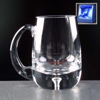 Balmoral Glass Bubble Based Tankard In Presentation Box - From £23.65 Including Engraving