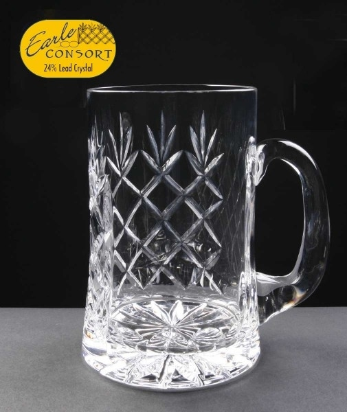 Earle Crystal Tankard In White Cardboard Box - From £24.45 Including Engraving