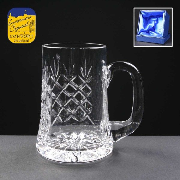 Earle Crystal Tankard In Presentation Box - From £30.90 Including Engraving