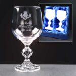 Claudia Wine Glasses x2 In Presentation Box - From £21.95 Including Engraving