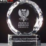 Whitefire Optical Crystal Glen Finnan Award In Velvet Lined Presentation Box - From £52.50 Including Engraving
