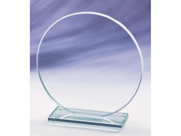 Circle Shaped Glass Award - From £15.25 Including Engraving