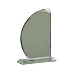 Jade Glass Award In Presentation Box - From £22.00 Including Engraving