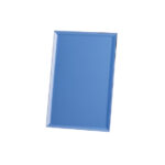 Rectangle Shaped Blue Glass Award - From £11.25 Including Engraving