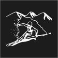 Skier Logo