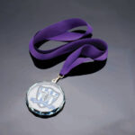 Engraved Glass Medals CR16223A